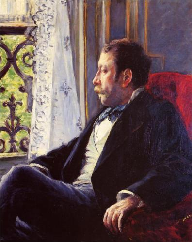 Portrait of a Man - Gustave Caillebotte