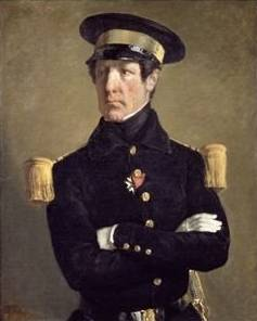 Portrait of a Naval Officer - Jean Francois Millet