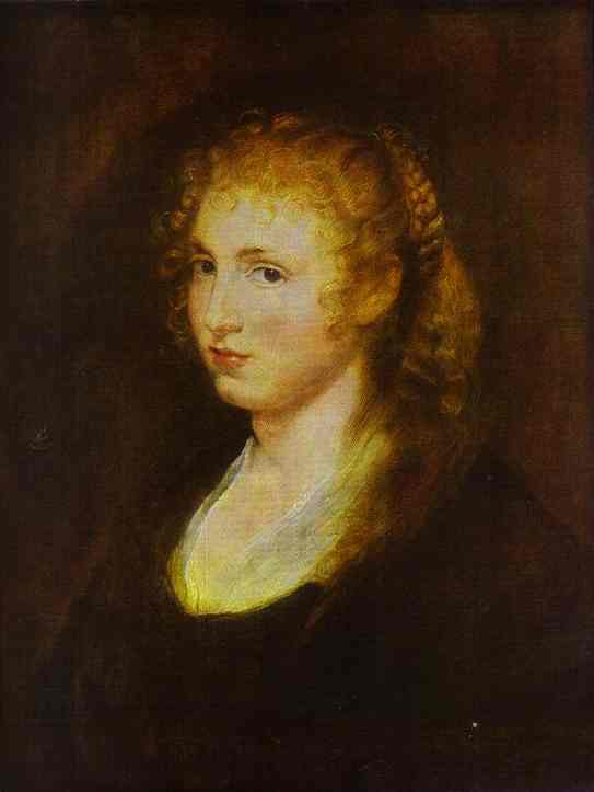 Portrait of a Woman II - Peter Paul Rubens