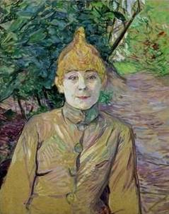 Portrait of a Woman (La Goulue) - Henri de Toulouse Lautrec