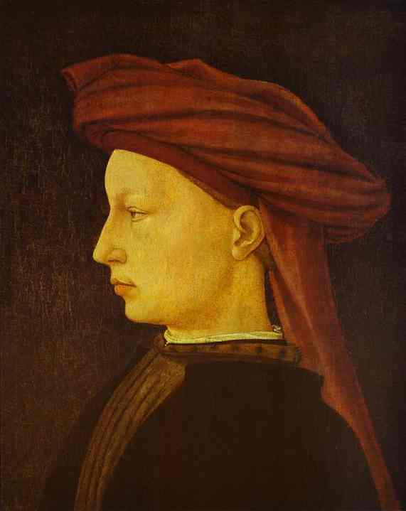 Portrait of a Young Man - Masaccio
