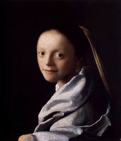 Portrait of a Young Woman - Jan Vermeer van Delft