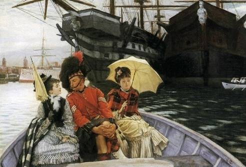 Portsmouth Dockyard - James Tissot