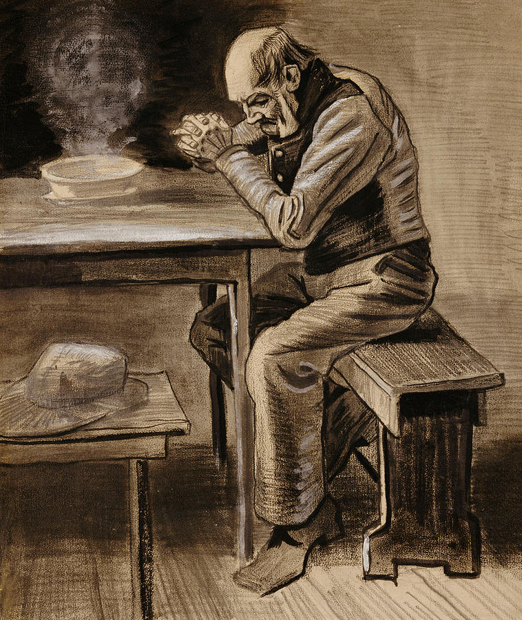The Prayer - Vincent Van Gogh