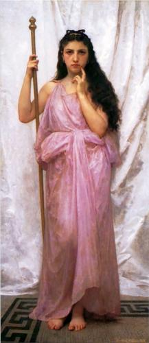 Priestess - William Adolphe Bouguereau