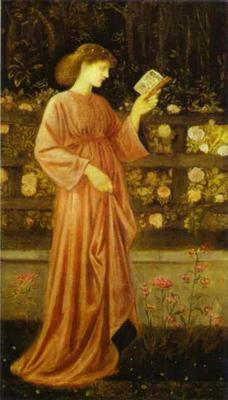 Princess Sabra (The King's Daughter) - Edward Coley Burne Jones