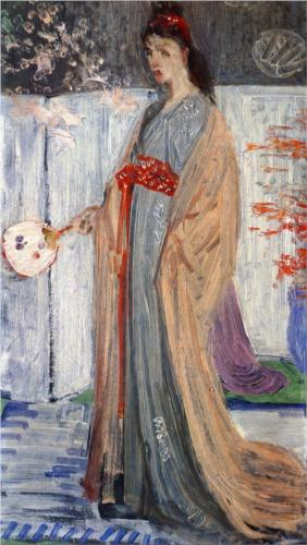 Princess from the Land of Porcelain - James McNeill Whistler