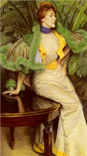 Princesse De Broglie - James Tissot