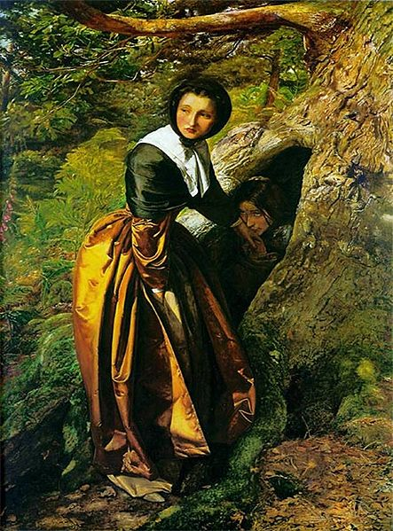 Proscribed Royalist - John Everett Millais