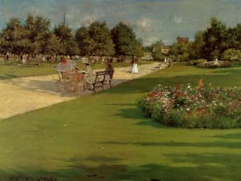 Prospect Park, Brooklyn - William Merritt Chase