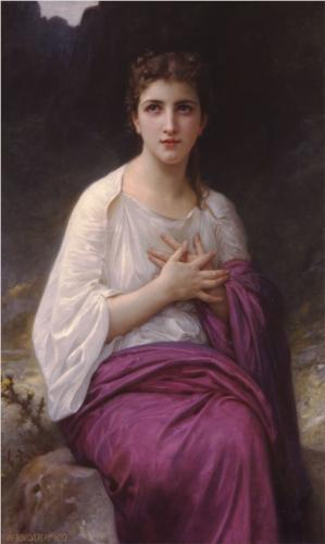 Psyche - William Adolphe Bouguereau