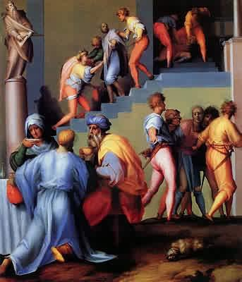 Punishment of the Baker - Jacopo da Pontormo
