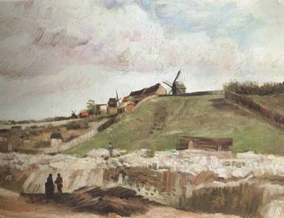 Quarry and Mills at Montmarte - Vincent van Gogh