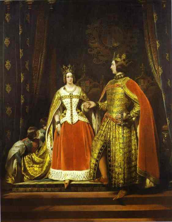 Queen Victoria and Prince Albert - Edwin Henry Landseer