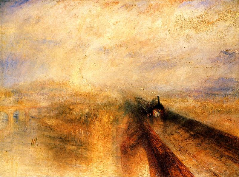 Rain, Steam and Speed - the Great Western Railway - Joseph Mallord William Turner
