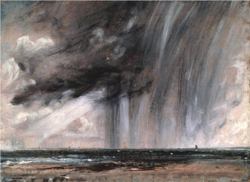 Rainstorm over the Sea - John Constable