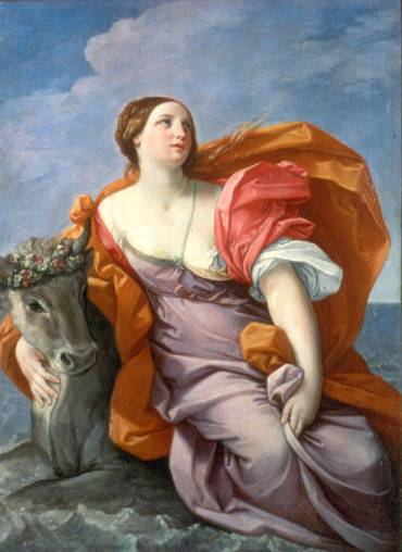Rape of Europa - Guido Reni