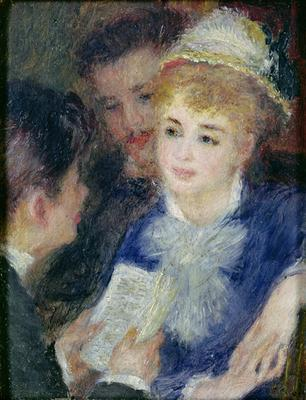 Reading the Role - Pierre Auguste Renoir