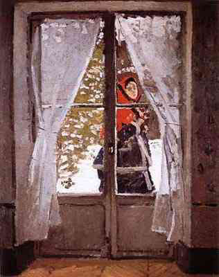 Red Handkerchief - Claude Monet