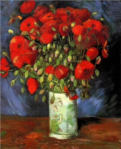 Red Poppies - Vincent Van Gogh