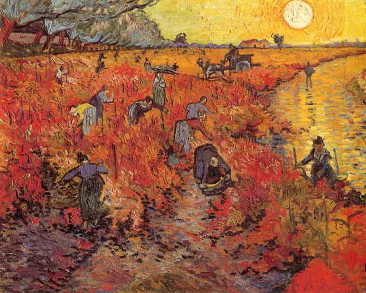 Red Vineyard - Vincent van Gogh