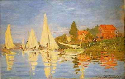 Regatta at Argenteuil - Claude Monet