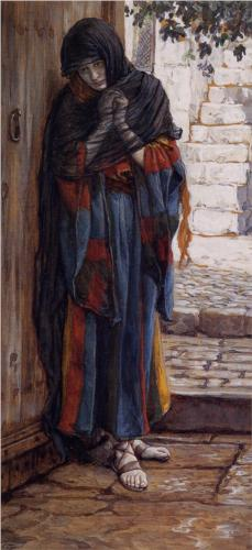 Repentant Magdalene - James Tissot