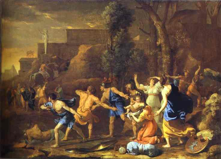 Rescue of Pyrrhus - Nicolas Poussin