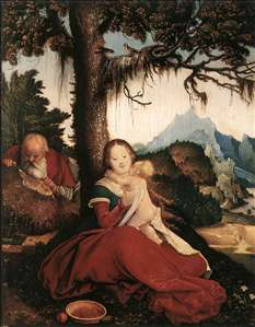 Rest on the Flight to Egypt - Hans Baldung Grien