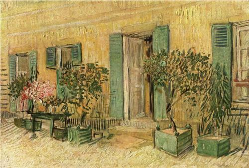Restaurant at Asnieres - Vincent Van Gogh