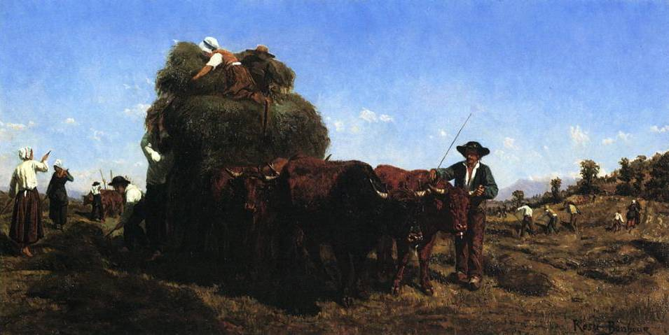 Return from the Harvest - Rosa Bonheur
