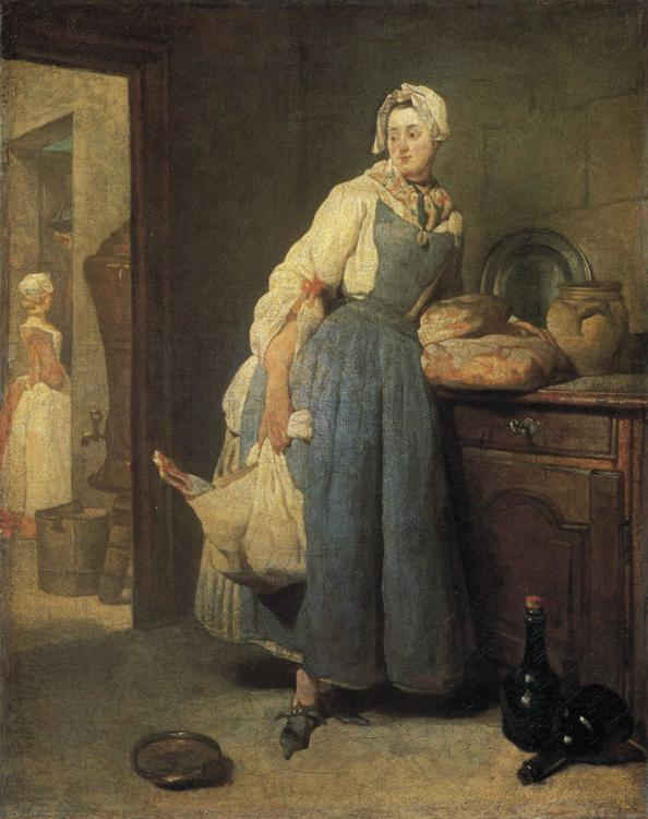 Return from the Market - Jean-Baptiste-Simeon Chardin