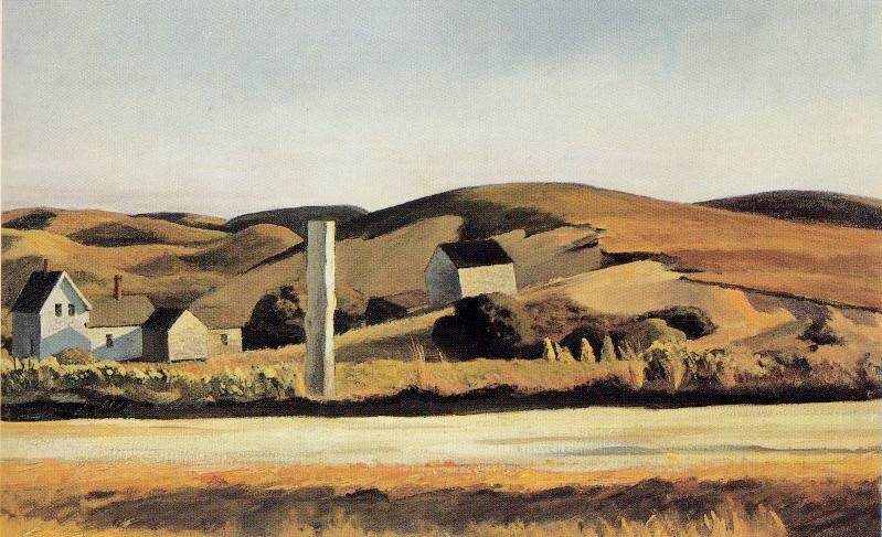 Road and Houses South Truro - Edward Hopper