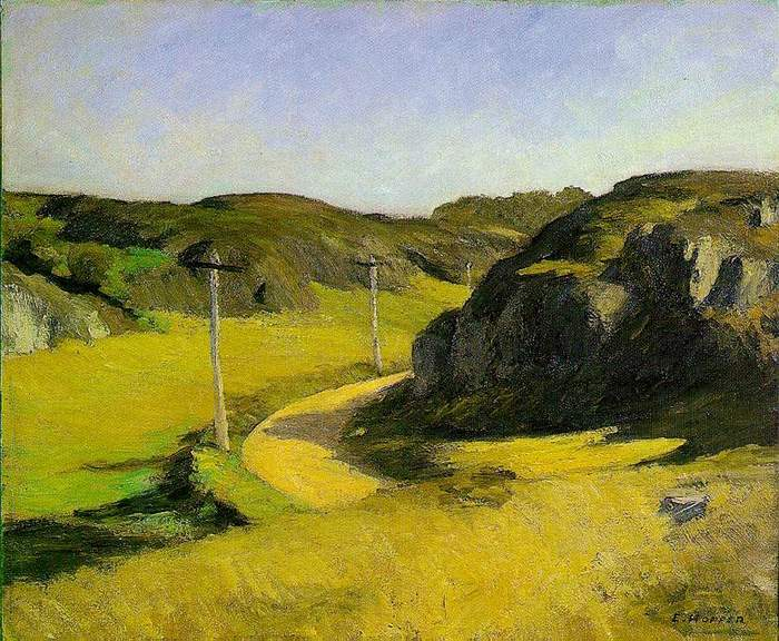 Road in Maine - Edward Hopper