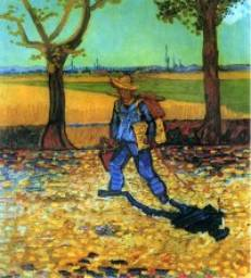 Road to Tarascon - Vincent van Gogh