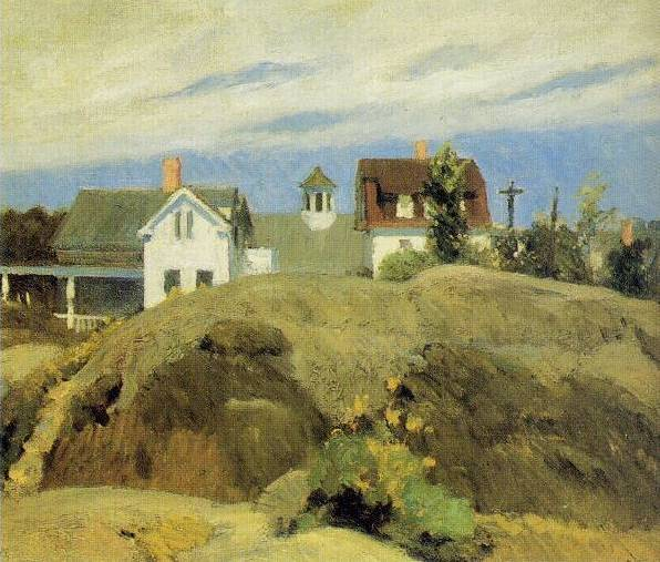 Rocks and Houses, Ogunquit - Edward Hopper