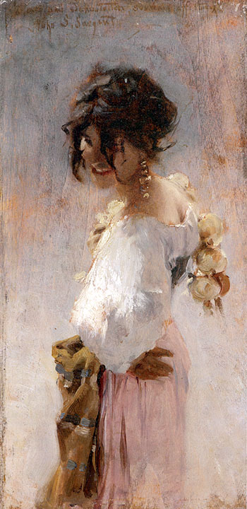 John singer sargent gallery oil painting reproductions for John s painting