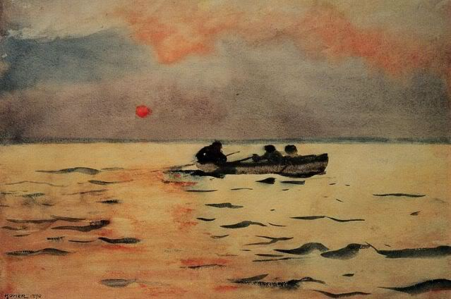 Rowing Home - Winslow Homer