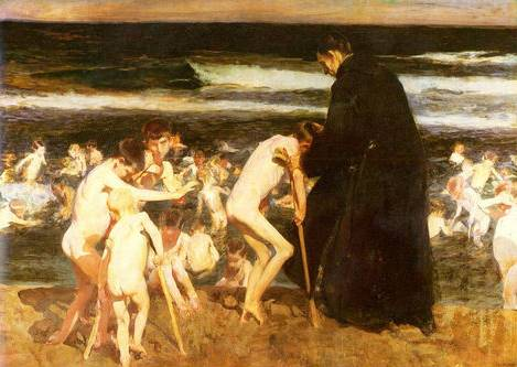 Sad Inheritance - Joaquin Sorolla