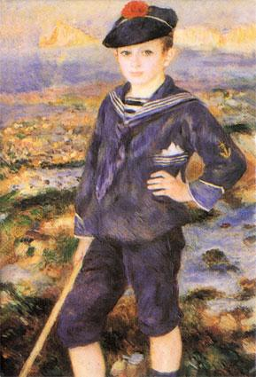Sailor Boy - Pierre Auguste Renoir