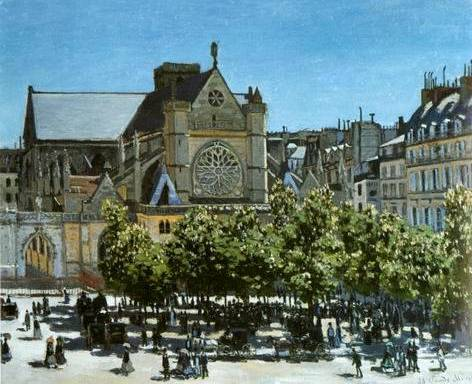 Saint Germain l�Auxerrios - Claude Monet
