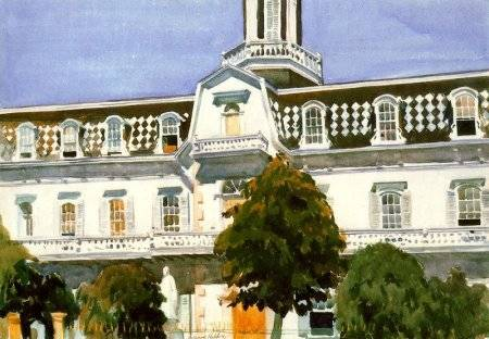 Saint Michael's College, Santa Fe - Edward Hopper