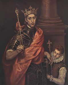 Saintly King - El Greco