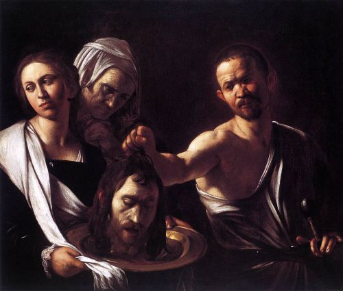 Salome with the Head of St. John the Baptist - Michelangelo Merisi da Caravaggio