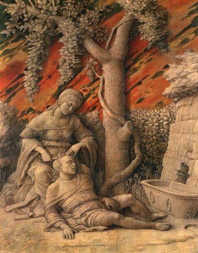 Samson and Delilah - Andrea Mantegna