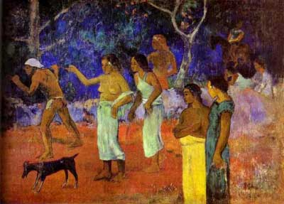 Scenes from Tahitian Life - Paul Gauguin