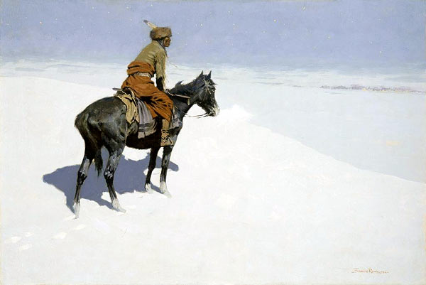 Scout Friends or Enemies? - Frederic Remington