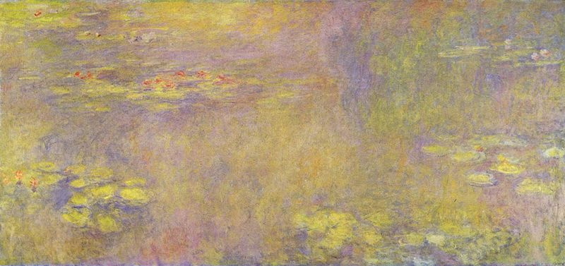 Sea Roses (Yellow Nirwana) - Claude Monet