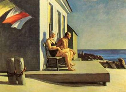 Sea Watchers - Edward Hopper