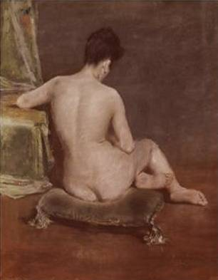 Seated Nude - William Merritt Chase